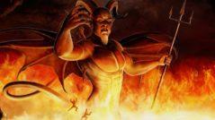 O elitismo satânico: imagem de satã