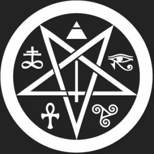 logotipo satanico